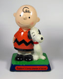 Peanuts Philosophy Figurine - Charlie Brown and Snoopy