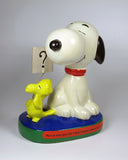 Peanuts Philosophy Figurine - Snoopy and Woodstock