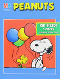Snoopy With Balloons Kid's Jigsaw Puzzle
