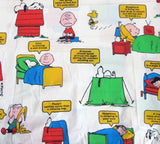 Vintage Peanuts Gang Fitted Sheet - Sleeping Phrases