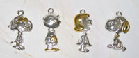 Peanuts Sterling Silver and Gold Plated Charm