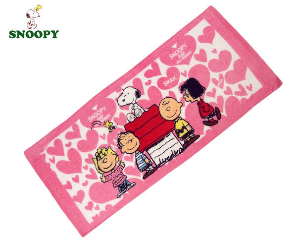 Peanuts Gang Small Bath Towel / Long Hand Towel - SMAK