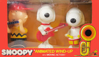 Peanuts Animated Wind-Up Musical Toy Set - Rare!