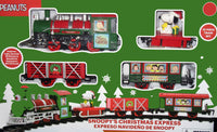Snoopy's Christmas Express Train With Lights and Sound