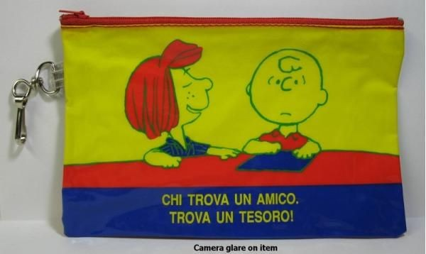 Peanuts Gang Vinyl Pencil Bag (Spanish Version)