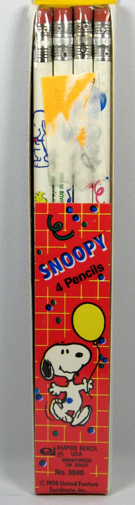 Snoopy 4-Pack Pencils