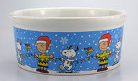 Peanuts Christmas Ceramic Pet Bowl / Snack Dish