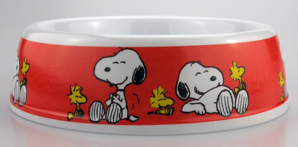 Snoopy Melamine Pet Bowl