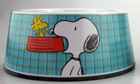Snoopy Large Melamine Pet Bowl With Non-Skid Base