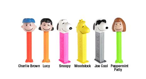 Peanuts PEZ Candy Dispenser