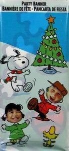 Peanuts Gang Photo Banner - Over 4 Feet Tall!