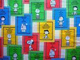Vintage Peanuts Gang Banners Fitted Sheet