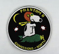 FLYING ACE PATCH - PHANTOM II 100 MISSIONS - NORTH VIETNAM Patch