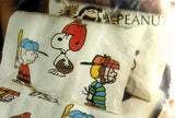 Vintage Peanuts Gang Pillow Case - Let's Play Ball