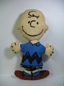 Charlie Brown Vintage Pillow Doll