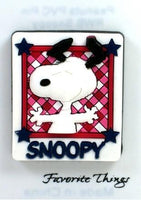 Snoopy Patriotic PVC Pin