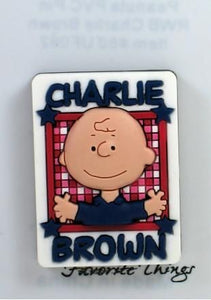 Charlie Brown Patriotic Pvc Pin