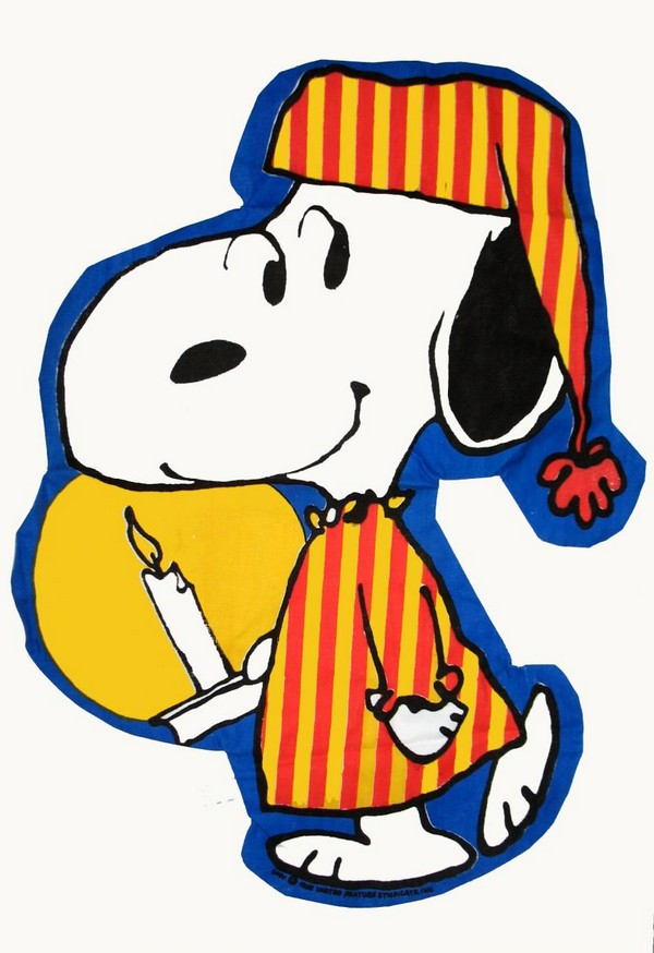 Snoopy Pajama Bag