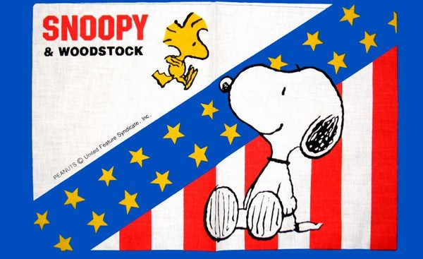 Snoopy and Woodstock Cloth Place Mat