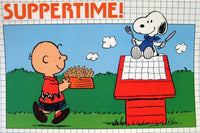 Peanuts Gang Vinyl Place Mat - Suppertime!