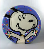 Happy Snoopy Party Dinner Plates