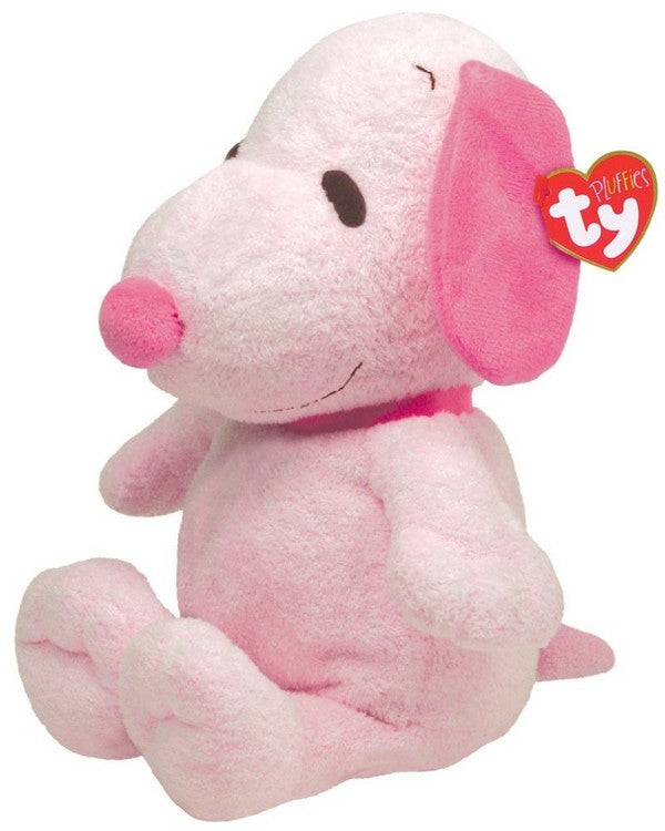 Snoopy Pluffie Musical Plush Doll - Pink