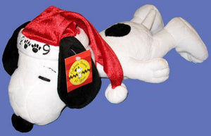 2009 Snoopy Santa Plush Doll