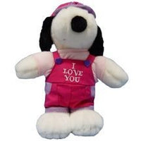 Belle Plush Doll - I Love You