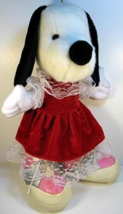 Belle Plush Doll in Lacy Dress