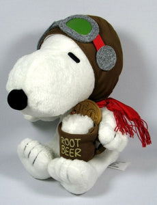 60th Anniversary Snoopy Plush Doll - Flying Ace
