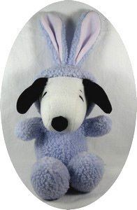 Hallmark Snoopy Easter Bunny Plush Doll