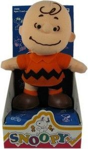 Snoopy and Friends Plush Doll - Charlie Brown