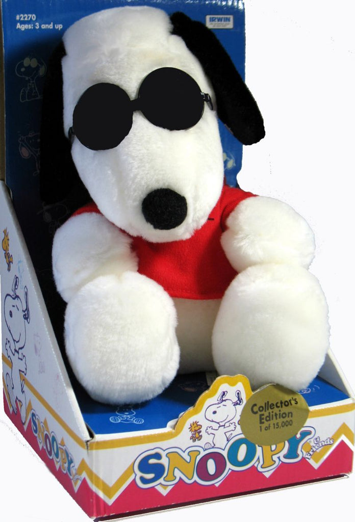 Snoopy and Friends Plush Doll - Joe Cool