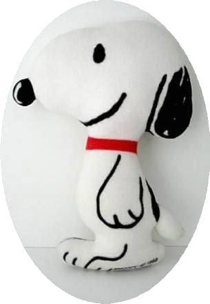 Snoopy Fleece-Covered Plush Doll