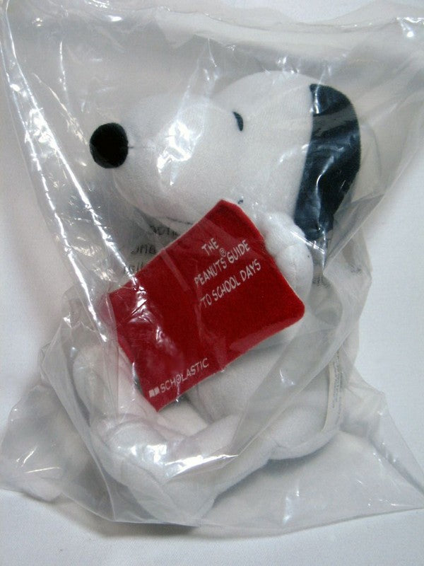 Snoopy Scholastic Books Plush Doll