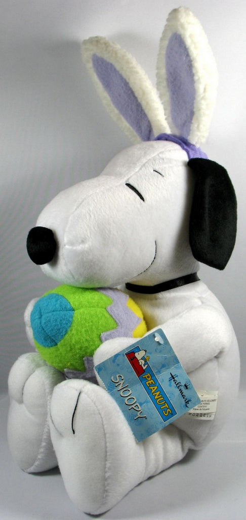 Hallmark Easter Beagle Plush Doll Holding Easter Egg