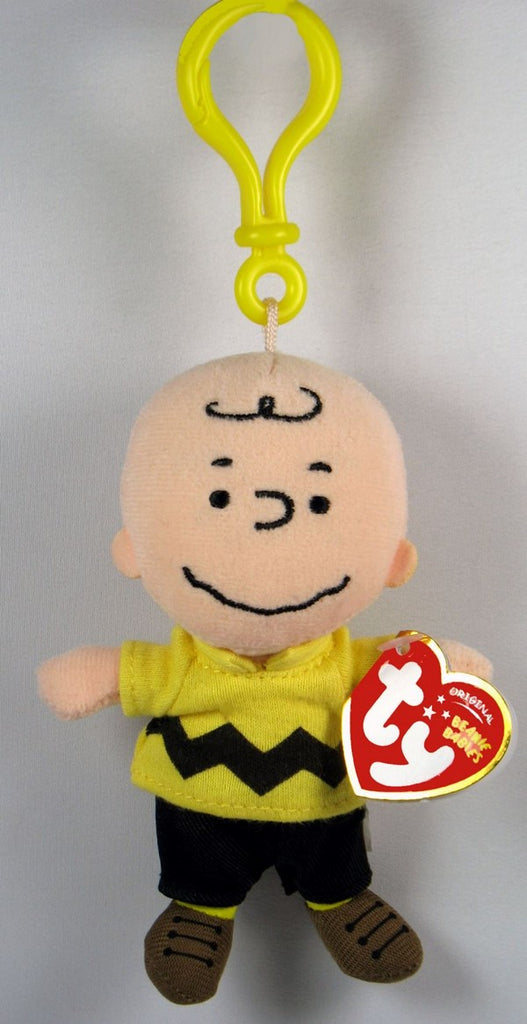 Charlie Brown Ty Plush Key Chain