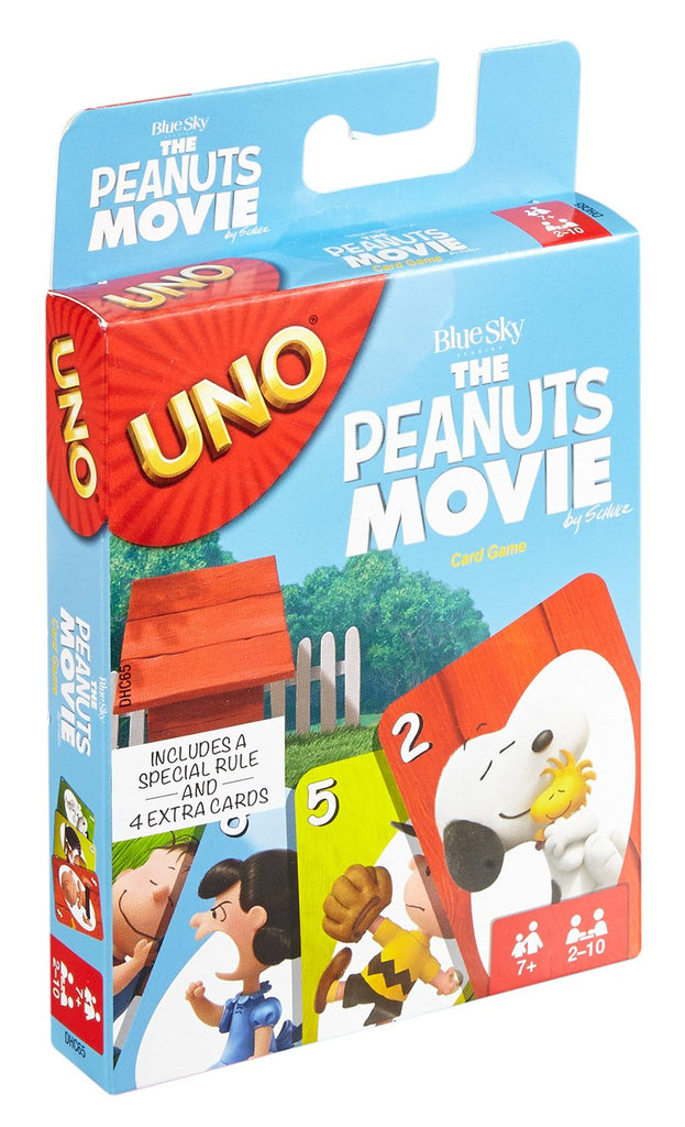 Peanuts Movie UNO Card Game