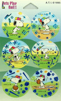 Peanuts Gang Pog Set - Baseball