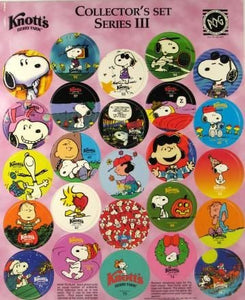 Knott's Pogs - Collector's Set Series 3