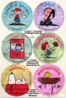 Peanuts Gang Pogs Set