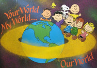 Peanuts Gang Wall Poster - Our World