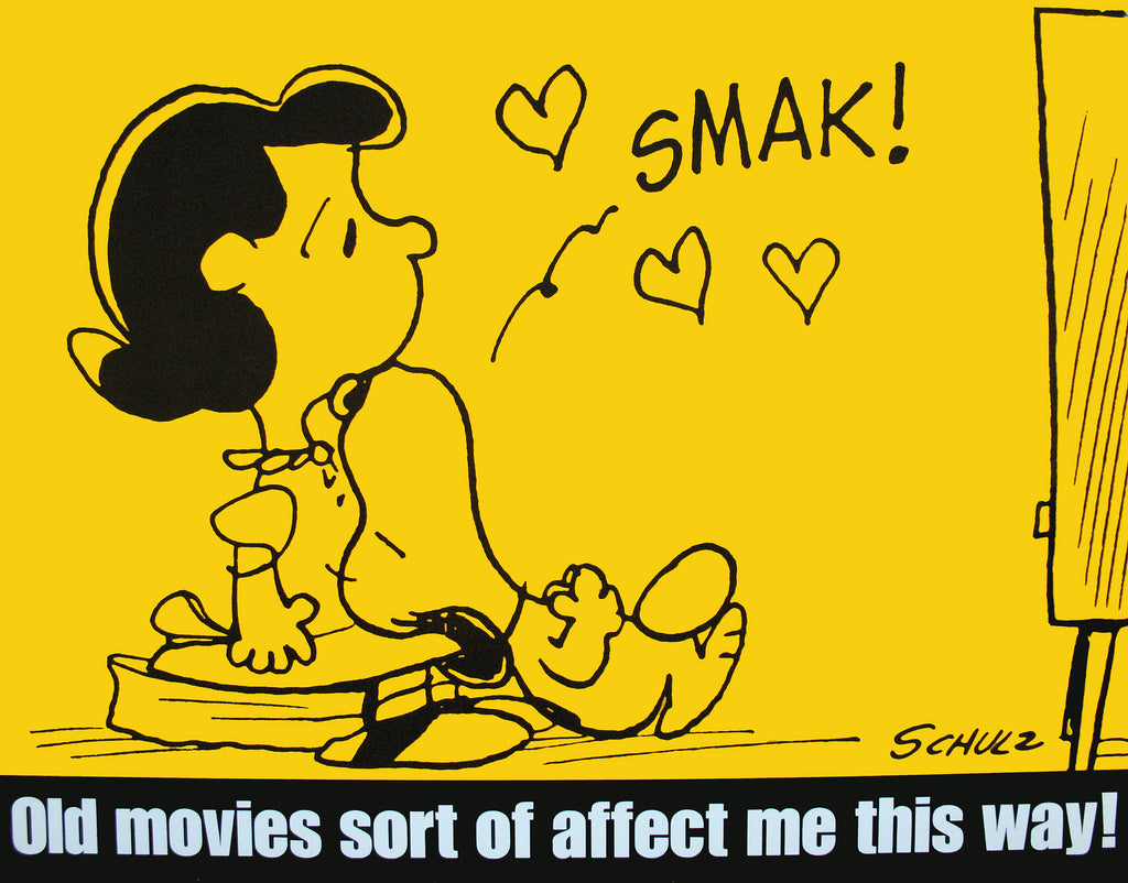 Peanuts Laminated Vintage Poster - Old Movies