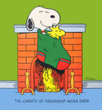 Peanuts Laminated Vintage Poster - Warmth Of Friendship