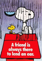 Snoopy and Woodstock Wall Poster
