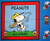 "Charlie Brown/Snoopy Pillow Panel (35"" x 44"")"