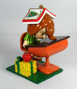 Danbury Mint Christmas Ornament - Peppermint Patty