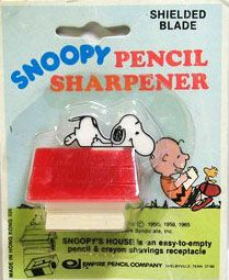 Snoopy on doghouse pencil sharpener