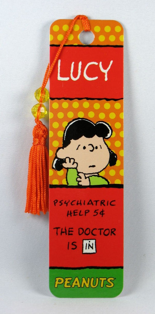 Lucy Psych Booth Beaded Bookmark