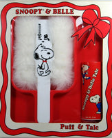 Snoopy and Belle Puff and Talc Set